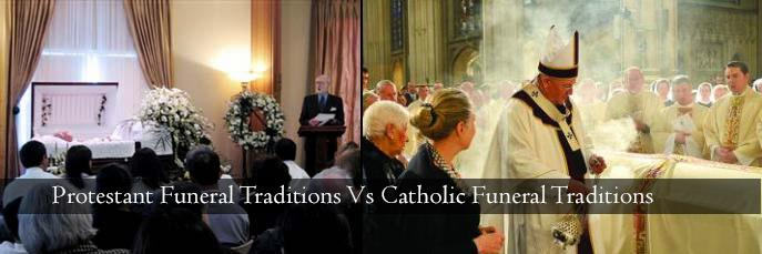 Differences Between Protestant and Catholic Funeral Customs