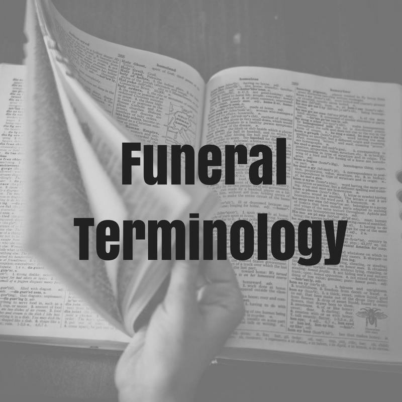 Funeral Terminology