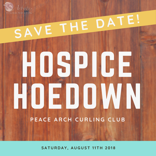 Peace Arch Hospice Society is proud to host a Hospice Hoedown!
